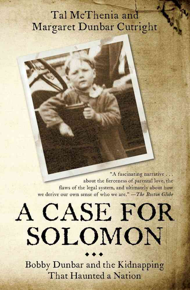 A Case for Solomon By Mcthenia, Tal/ Cutright, Margaret Dunbar